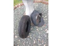 Trailer tyre tube