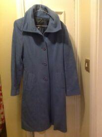 Ladies Blue Coast Coat