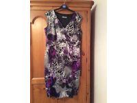 Michaela Louisa multi-coloured dress, size 14-16