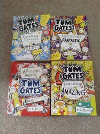 4 Tom Gates books