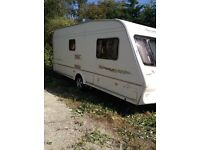 Bailey senator Vermont 2004 2 berth end bathroom excellent cond brand new full bradcot awning