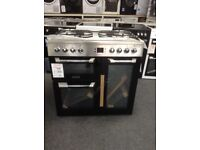 Leisure cuisinemaster 90cm duel fuel range. Damage. RRP £945. New/graded 12 month Gtee