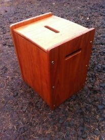 Small solid pine toy box / seat