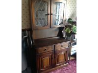 Double dresser cabinet