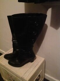 Extra wide size 6eee simply be knee high boots