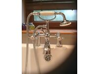 Traditional Bath Mixer Taps with shower mixer handset