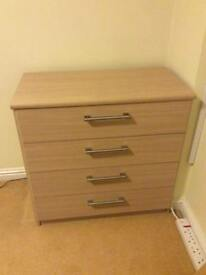 Pair of 4 Drawer Chests