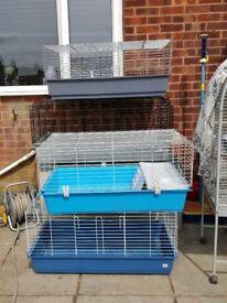 Indoor Rabbit/Guinea Pig Cages