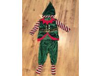 Elf Costume 3-4 year old, only worn once, from M&S excellent condition.