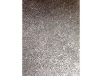 Various sizes of Rome pewter carpet (11mm thickness), brand new, great quality.