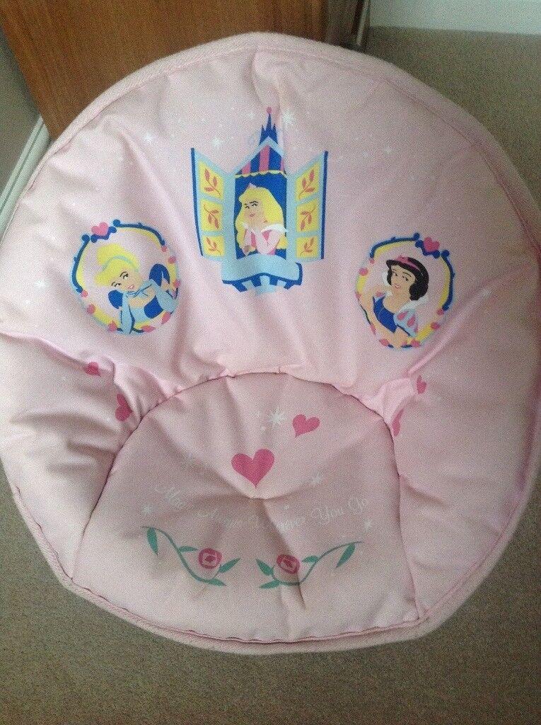 Disney Princesss Foldable Padded Moon Chair