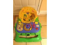 Baby Walker with toy station