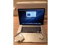 "Apple MacBook Pro 15.4"" With Retina 16GB 512GB 2.7GHz Quad Core Intel i7 £900 cash price"