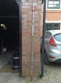 7FT Standard Barbell with Clips (Delivery Available)