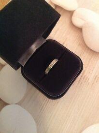 Platinum wedding ring size L/6