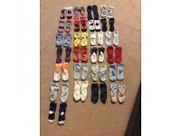 Baby boys 25 pairs socks age 6-12 months- Hugo boss/baby k/timberland /next