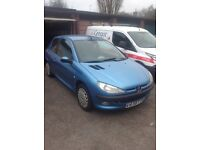 Peugeot206 1999 For sale as spares or repair. Good little runner