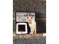 Cat flap , new, unused