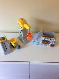 Kids toy building buddies set