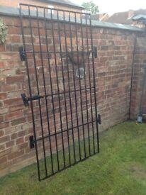 Security barred gate/door. 110cm X 201cm