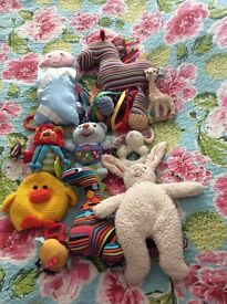 Big bundle of baby and toddler toys