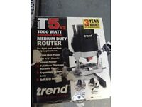 Trend router and 2 part hinge jig