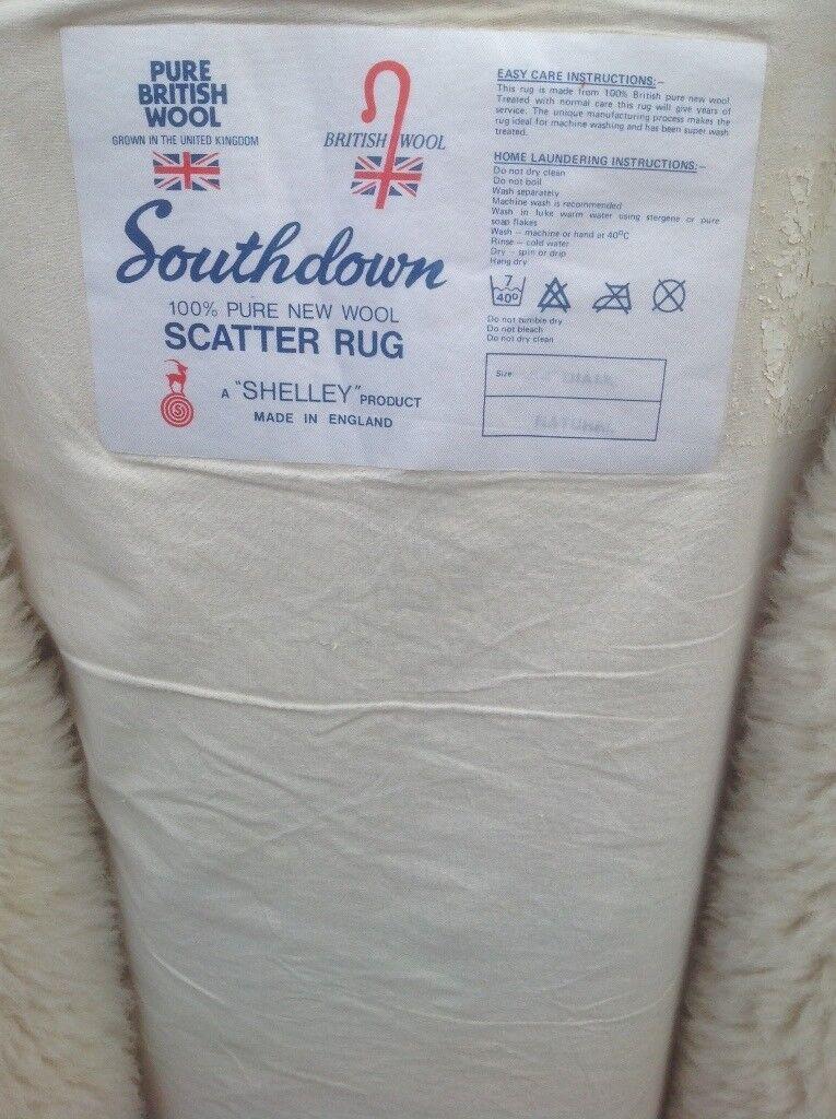 Wool rug/ scatter rug