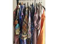 Big job lot of Vintage clothes and accessories, vintage stock