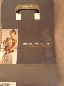 African baby carrier sling 4 months to 3 years