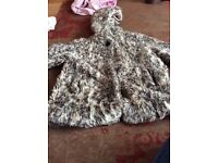 Little girls coat age 3 years..from river island lovely little coat age 3 river island age 3.