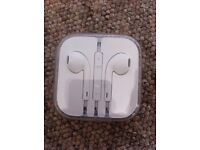 Apple headphones new- unopened