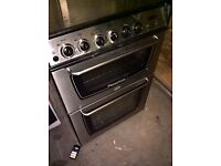 Silver Gas cooker 60cm...cheap Free delivery