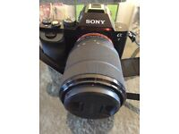 Camera digital Sony full body with length and bag