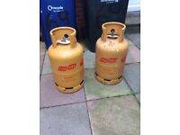 Flogas butane gas bottles