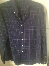 Navy Ralph Lauren shirt