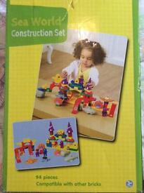 Sea world construction lego