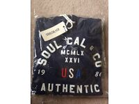 Soulcal men's hoodie brand new