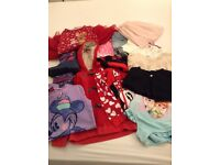 Bundle of girl clothes - 4/5 years old (Next, Gap, Sainsburys etc)
