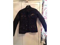 Barbour international women's jacket size 10