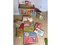 CoCaLo Alphabet Soup Bedding and Toy Chest