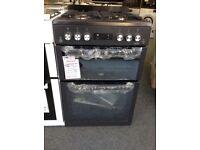Beko 60cm gas cooker. RRP £499 slate grey 12 months Gtee