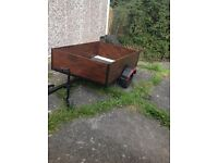 Trailer 5.5ft X 3.5 ft approx