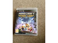 PS3 Game Minecraft Story Mode