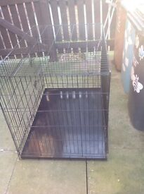 Medium dog cage for sale, need gone as soon as possible