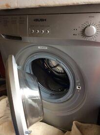 Bush A126Q Washing Machine Silver
