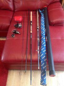 Fishing gear rods reels