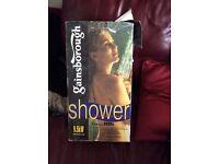 Shower pump shower unit (electric)