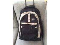 American Tourister back pack cum pullalong