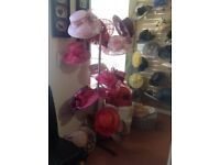 Retail hat display stand