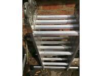Aluminium multi-purpose extension ladder - never used.